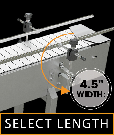 Stainless Steel Top Belt Conveyor System