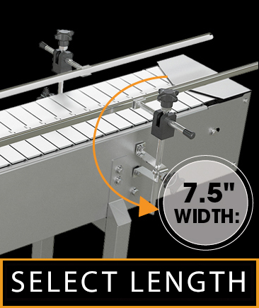 Stainless Steel Top Belt Conveyor Systems