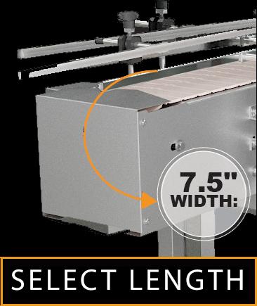 "Plastic Conveyor 7.5"" Width"