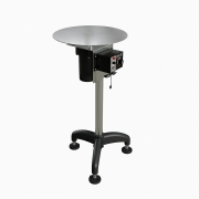 "Globaltek Stainless Steel 18"" Dia Transfer Rotary Turn Table (TAB-0018)"