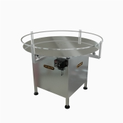 """Globaltek Stainless Steel 36"""" Dia. Accumulating Rotary Table (ROT-36OAN)"""