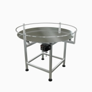 "Globaltek Stainless Steel 36"" Dia. Accumulating Rotary Table (ROT-36OAN)"
